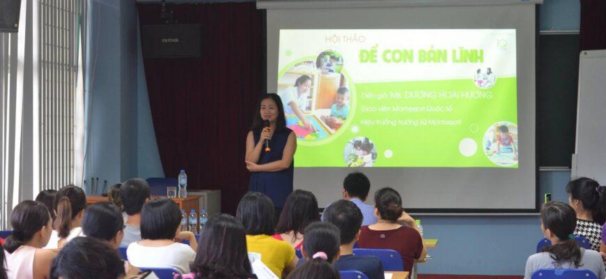 Hội thảo Montessori